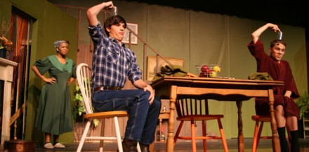 Review: fall play, The Foreigner