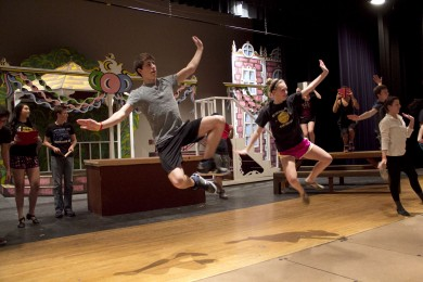 Photo Gallery: Rehearsal for the Winter Musical