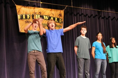 High+five+for+fifth+wall%3A+Comedy+troupe+prepares+for+local+improv+competition