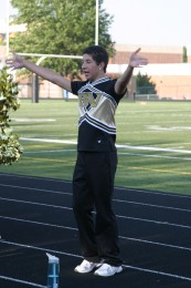 A New Voice for BV Cheer: Cheer's first-ever yell-leader joins team, motivated to inspire others