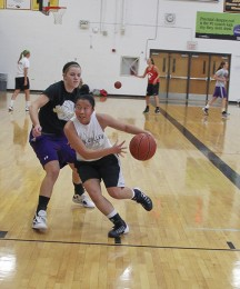 Switching it Up: Senior transfers from Blue Valley West to BV for basketball program, teaching staff