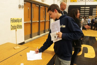 Photo Gallery: Eighth Grade Enrollment Night and Activities Fair