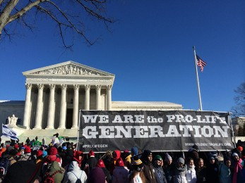 March for Life rally sparks controversy in debate over abortion; staffer takes firm pro-life stance