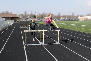 On the Right Track: Track and Field team epitomizes variety in athletic ventures, displays talent in many events