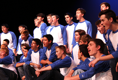 No Business Like Show Business: Blue Valley choir performs annual Spring Show incorporating all groups
