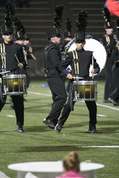 You Can't Stop the Beat: Band student discusses drumline dedication, group dynamic