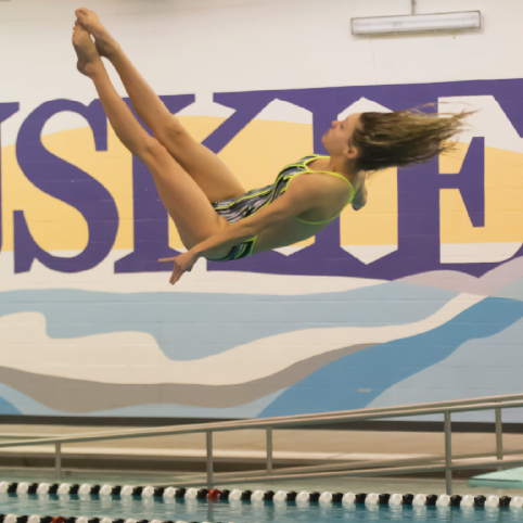 Dive team benefits from previous cheerleading, gymnastic experience