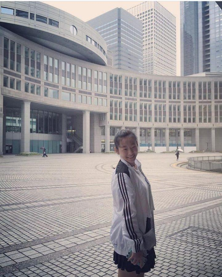 """Annie Wang and her family visited the Shibuya Corssing, which is in Tokyo. """"One of my favorite places to visit was the Shibuya Corssing in Tokyo. I thought it was very fun and interesting,"""" Annie Wang said. Photo by Annie Wang."""