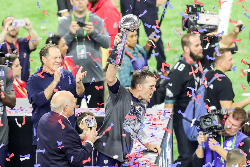 Patriots defeat the Falcons in fifth Super Bowl victory