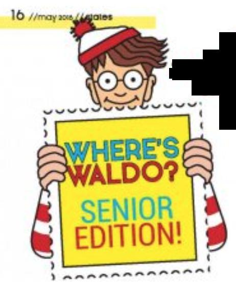 Where's Waldo? Senior Edition!