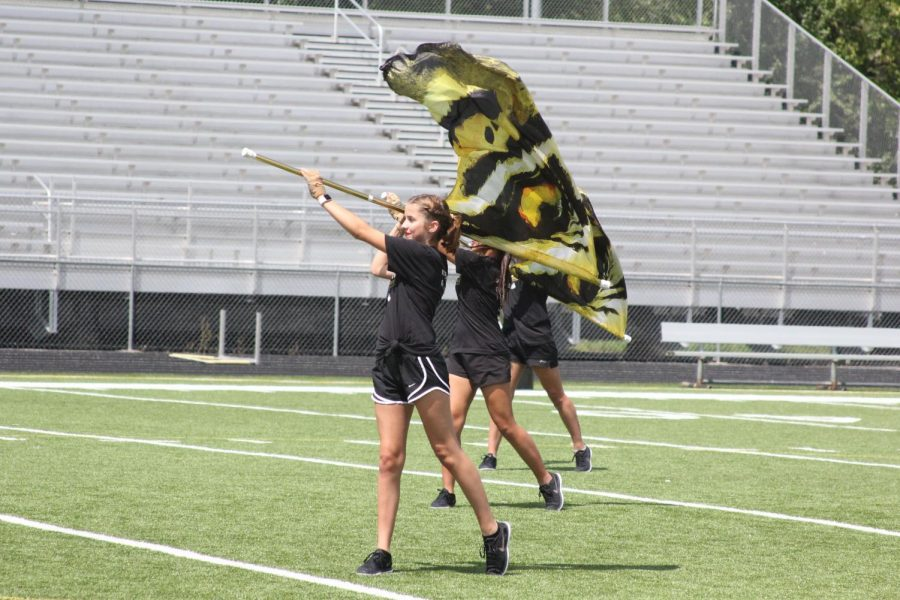 Spinning Through Color Guard