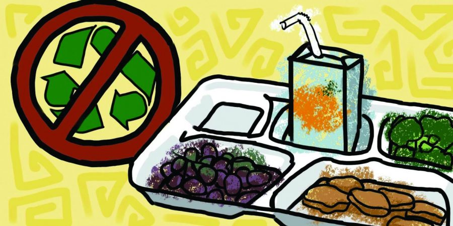 Styrofoam trays pose harmful threat to environment, should be eliminated from school lunchrooms nationwide