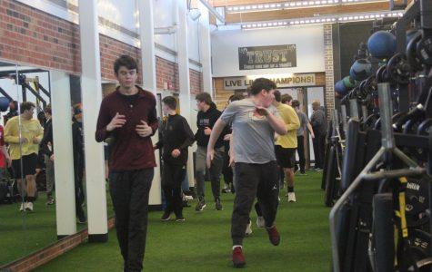 Track and Field Indoor Practice