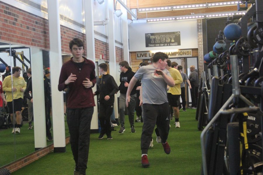 Track and Field Indoor Practice