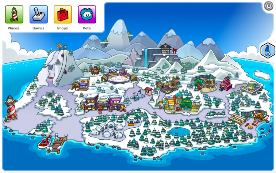 Club penguin was the best childhood game