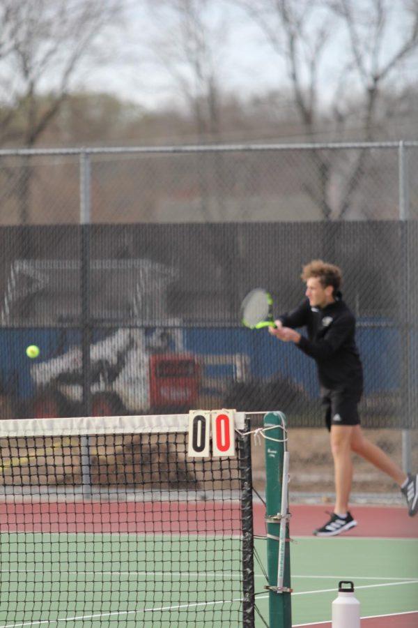 Boys Tennis Practice
