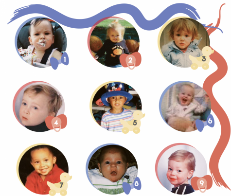 Baby seniors, oh how they have grown! Can you guess who is who?